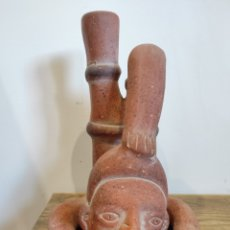Arte: FIGURA ARTE PRECOLOMBINO, AZTECA, MAYA, INCA...BARRO / TERRACOTA. S.XX. Lote 231591320