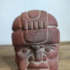 Arte: FIGURA ARTE PRECOLOMBINO, AZTECA, MAYA, INCA...BARRO / TERRACOTA. S.XX. Lote 231604860