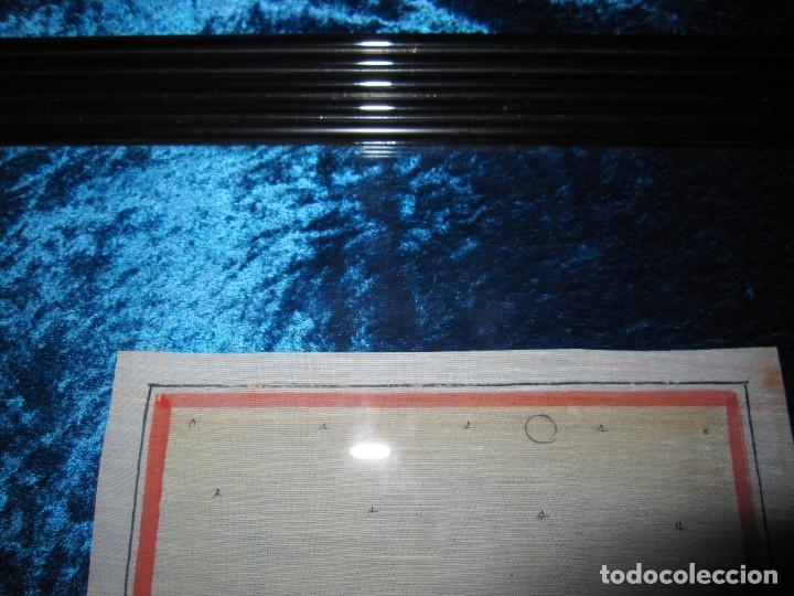 Arte: Cuadro pintura miniatura oriental India hindú seda doble cristal - Foto 24 - 232625322