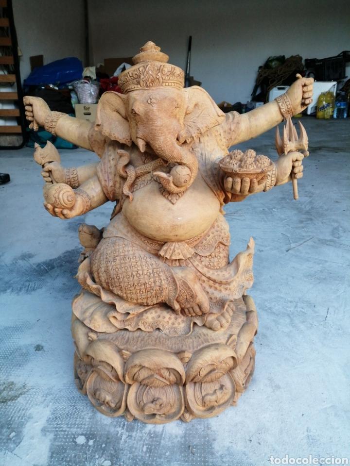 Arte: Figura de elefante dios hindú Ganesha - 62cm. - Foto 2 - 234449520