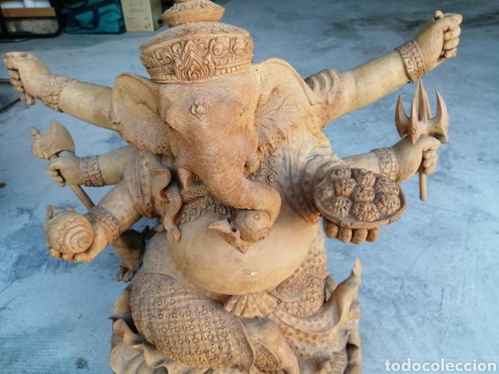 Arte: Figura de elefante dios hindú Ganesha - 62cm. - Foto 3 - 234449520