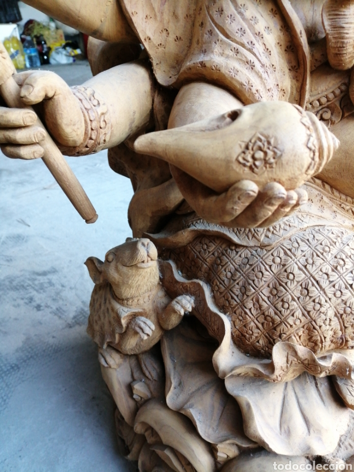 Arte: Figura de elefante dios hindú Ganesha - 62cm. - Foto 4 - 234449520