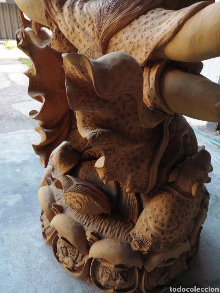 Arte: Figura de elefante dios hindú Ganesha - 62cm. - Foto 10 - 234449520