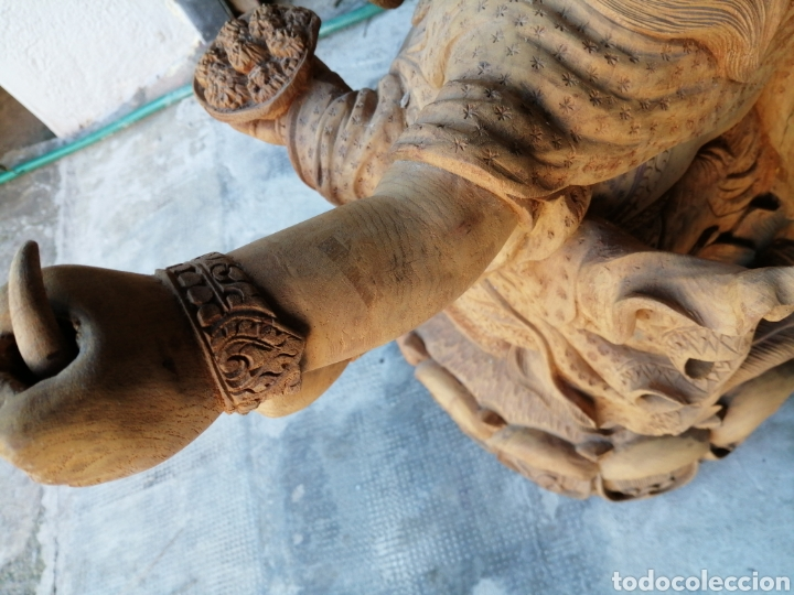 Arte: Figura de elefante dios hindú Ganesha - 62cm. - Foto 13 - 234449520