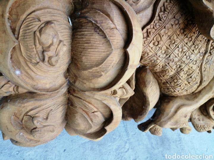 Arte: Figura de elefante dios hindú Ganesha - 62cm. - Foto 21 - 234449520