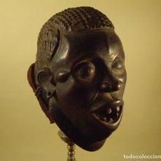Arte: ARTE AFRICANO. MASCARA IGALA. NIGERIA.. Lote 234476710