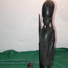 Arte: CUATRO FIGURAS DE ARTE AFRICANO. Lote 234921555