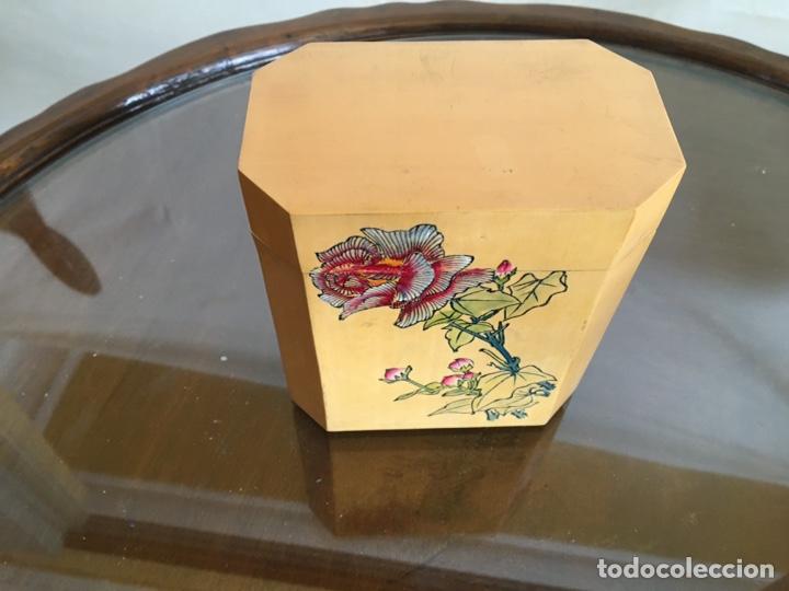 Arte: 3 cajas chinas de bambú - Foto 2 - 235360810