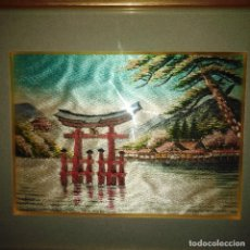 Arte: ANTIGUO CUADRO JAPONÉS. Lote 235389185