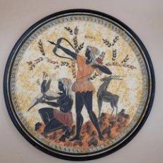 Art: PLATO CERAMICA ARTEMIS. AUTÉNTICO CON NUMERO DE SERIE. Lote 235853865