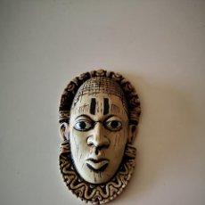 Arte: PRECIOSA MASCARA AFRICANA ARTE AFRICANO ESCULTURA 13 CENTIMETROS. Lote 236205755