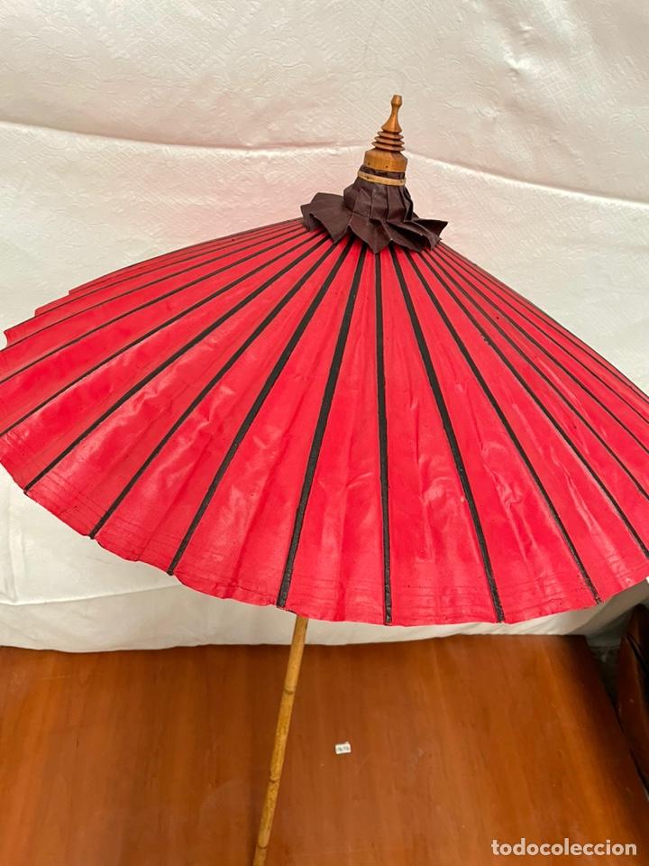 SOMBRILLA JAPONESA ARTESANAL (Arte - Étnico - Asia)