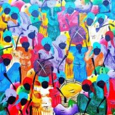 Arte: ÓLEO -GRACIA: ÁFRICA - 31 X 40 CMS. Lote 238091200
