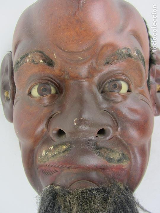 Arte: Máscara Japonesa del siglo XIX - Foto 5 - 242471100