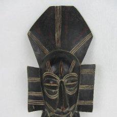 Arte: MÁSCARA RITUAL AFRICANA EN MADERA TROPICAL - PRINCIPIOS DE SIGLO XX. Lote 242471590