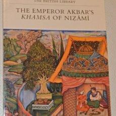 Arte: THE EMPEROR AKBAR´S - KHAMSA OF NIZAMI - BRITISH LIBRARY - MUGHAL ART OF INDIA. Lote 243913720