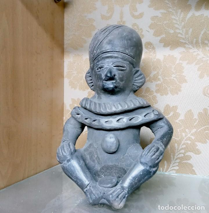 ESCULTURA DE BARRO / TERRACOTA PRECOLOMBINA - PROVENIENTE DE ECUADOR (Arte - Étnico - América)