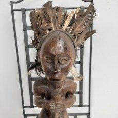 Arte: ESCULTURA FANG AFRICANA. Lote 244807475