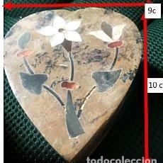 Arte: 4 CAJITAS DE PIEDRA ARTESANÍA HINDÚ. Lote 245647630