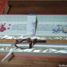 Arte: PAPER CUT CHINESE, GRAN PERGAMINO DE PAPEL CORTADO ORIGINAL CHINO. PIEZA DE COLECCIÓN CERTIFICADA. Lote 246660445