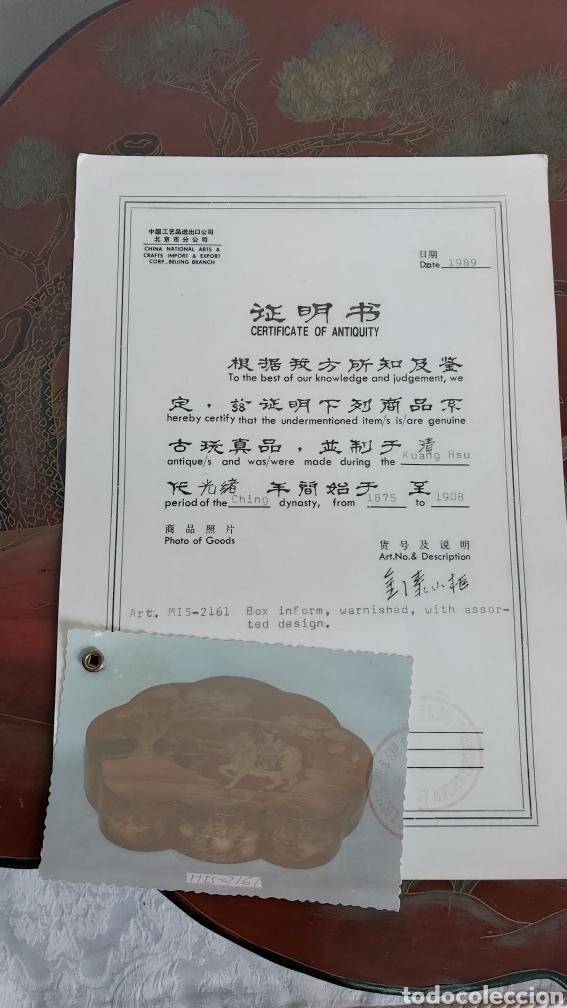 Arte: GRAN CAJA CHINA S.XIX DINASTÍA CHING PERIODO KUANG HSU 1875-1908 - Foto 6 - 247181410