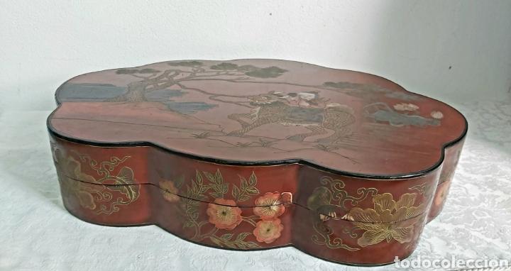 Arte: GRAN CAJA CHINA S.XIX DINASTÍA CHING PERIODO KUANG HSU 1875-1908 - Foto 9 - 247181410