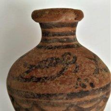 Arte: PREHISTORIA, EDAD DEL BRONCE, VALLE DEL INDO. PRECIOSA JARRITA CON AVES. 2ºM A.C. 70MM.. Lote 32825370