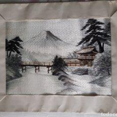 Arte: BORDADO JAPONÉS. AÑOS 50. ROGAMOS LEER BIEN LAS CONDICIONES ANTES DE PUJAR.. Lote 249332350