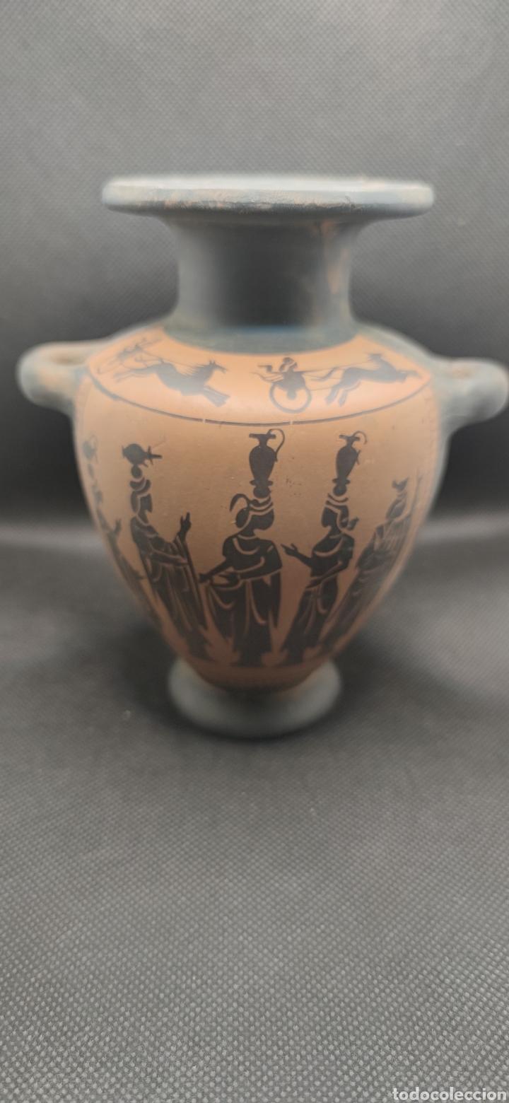 VASIJA JARRO JARRÓN GRIEGO GRIEGA (Arte - Étnico - Europa)