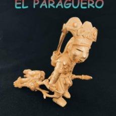 Arte: CHAMAN SACRIFICANDO UN VENADO PRECOLOMBINO QUIMBAYA DE ORO TUMBAGA PESO 116 GRAM-W3. Lote 252838295