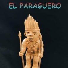 Arte: CHAMAN GUERRERO CAZADOR PRECOLOMBINO QUIMBAYA DE ORO TUMBAGA PESO 87 GRAM-W8. Lote 252842250