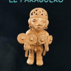 Arte: INDIO CHAMAN PALETERO PRECOLOMBINO QUIMBAYA DE ORO TUMBAGA PESO 100 GRAM-W10. Lote 252843520
