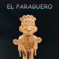 Arte: INDIO CHAMAN PALETERO PRECOLOMBINO QUIMBAYA DE ORO TUMBAGA PESO 89 GRAM-W12. Lote 252845195