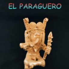 Arte: INDIO CHAMAN CHOLITA PRECOLOMBINO QUIMBAYA DE ORO TUMBAGA PESO 65 GRAM-W13. Lote 252845695