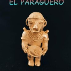 Arte: INDIO BATOCHE OFRENDANDO UNOS PESCADOS PRECOLOMBINO QUIMBAYA DE ORO TUMBAGA PESO 75 GRAM-W15. Lote 252846760