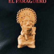 Arte: CHAMAN RITUAL LLUVIA QUIMBAYA DE ORO TUMBAGA PESO 72 GRAM-W30. Lote 253498145