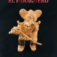 Arte: CHAMAN ZOOMORFICO QUIMBAYA DE ORO TUMBAGA PESO 78 GRAM-W31. Lote 253499060