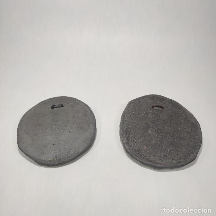 Arte: Muy bellos medallones griegos de Alejandro Magno y Diosa Aohna. Imitación a bronce patinado antiguo. - Foto 4 - 253695175