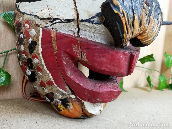 Arte: represenatcion del vegigante - fiesta de santiago apostol carnaval de loiza - años 30 o 40 - Foto 3 - 254968200