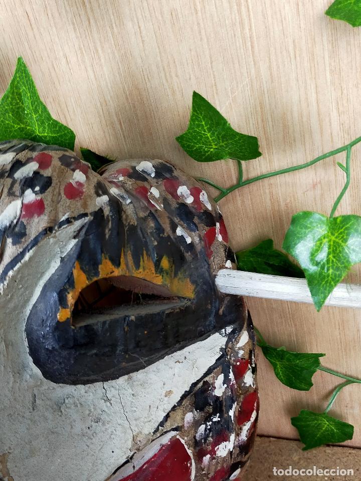 Arte: represenatcion del vegigante - fiesta de santiago apostol carnaval de loiza - años 30 o 40 - Foto 4 - 254968200