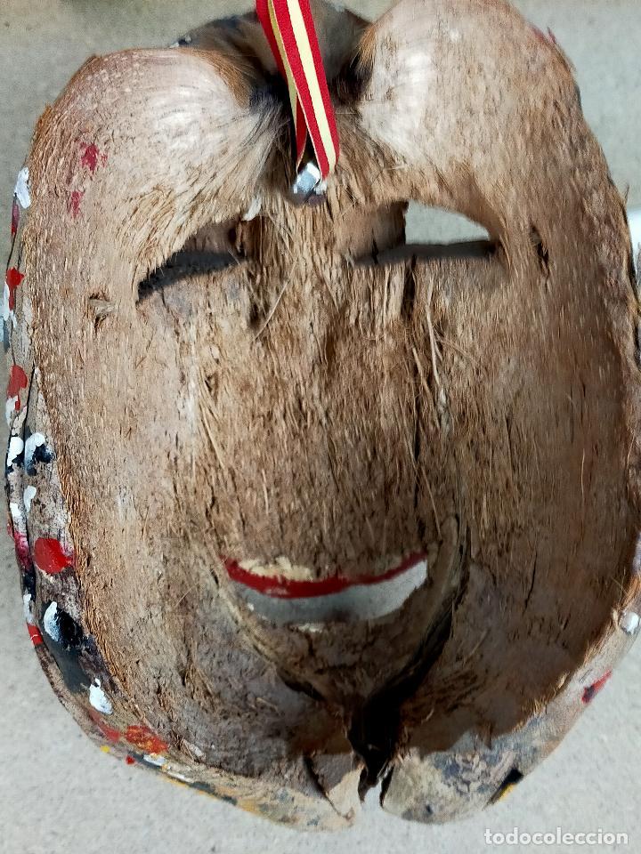 Arte: represenatcion del vegigante - fiesta de santiago apostol carnaval de loiza - años 30 o 40 - Foto 7 - 254968200