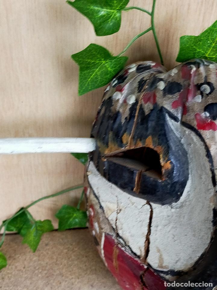 Arte: represenatcion del vegigante - fiesta de santiago apostol carnaval de loiza - años 30 o 40 - Foto 10 - 254968200