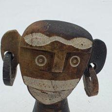 Arte: FIGURA AFRICANA TALLADA EN PIEDRA. Lote 258967035