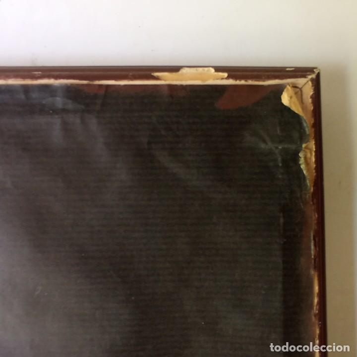 Arte: cuadro con pintura Haití colorista sobre tabla enmarcda - Foto 13 - 261543295
