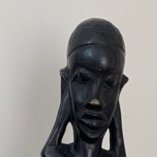 Arte: FIGURA ÉTNICA MULHER AFRICANA (MASSAI ). Lote 262355315