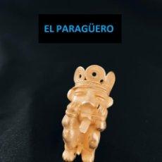 Arte: VALE PARA COLGANTE - INDIO OBITO PRECOLOMBINO QUIMBAYA DE ORO TUMBAGA PESO 24 GRAMOS -Q15. Lote 262770475