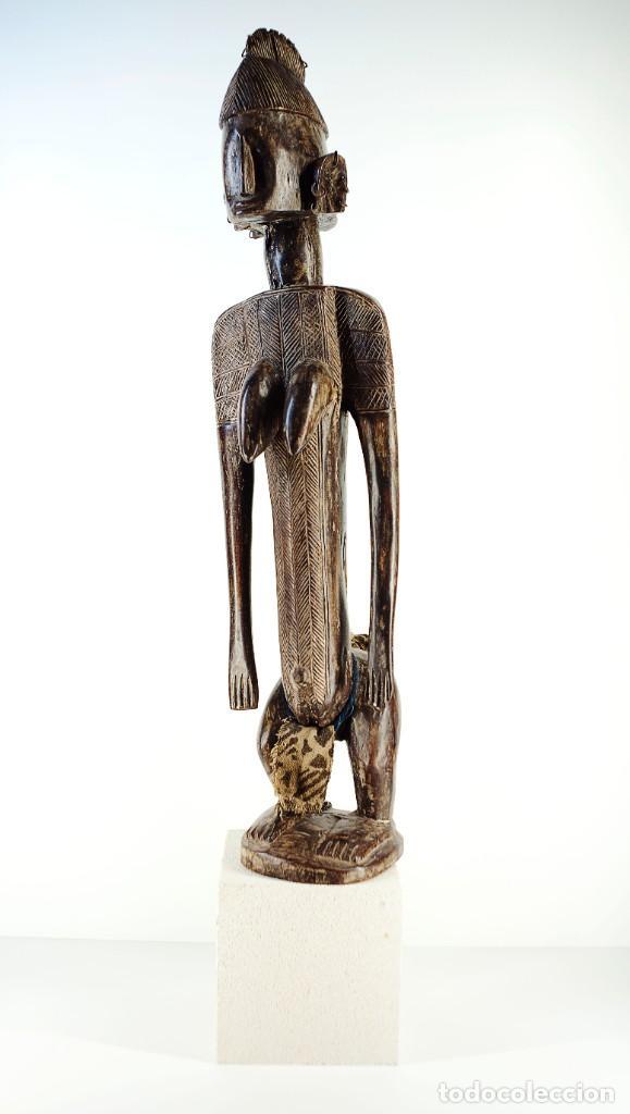 FIGURA FEMENINA SENUFO . COSTA DE MARFIL (Arte - Étnico - África)