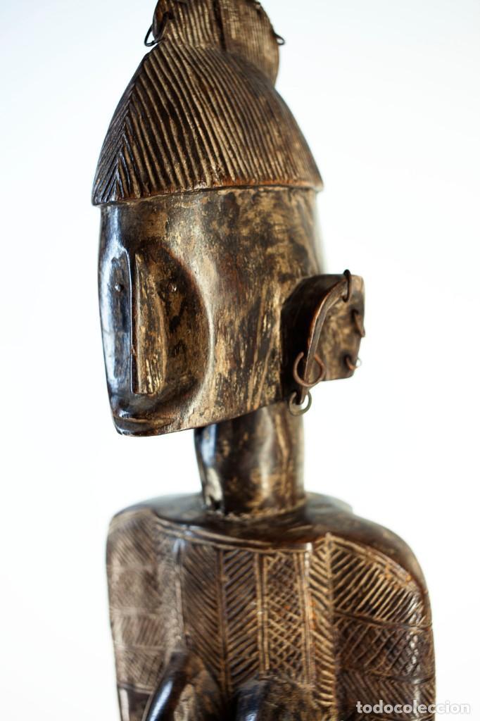 Arte: Figura femenina Senufo . Costa de Marfil - Foto 2 - 262772525