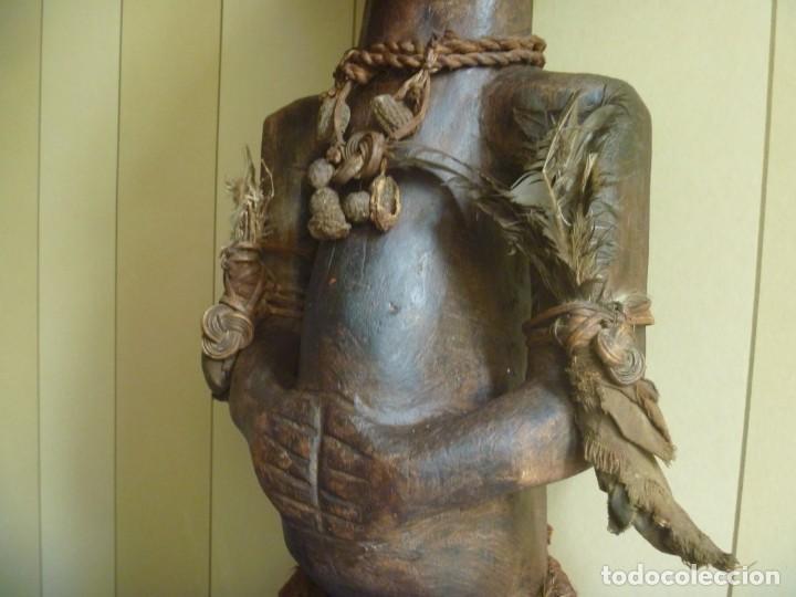 Arte: Impresionante Fetiche Nkisi Songye Congo 150 años Nkisi Songye fetish Congo 150 years Museum piece - Foto 4 - 263155640