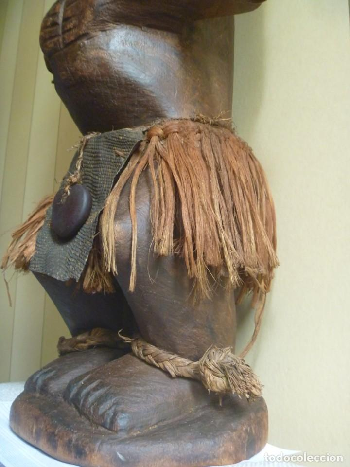 Arte: Impresionante Fetiche Nkisi Songye Congo 150 años Nkisi Songye fetish Congo 150 years Museum piece - Foto 5 - 263155640